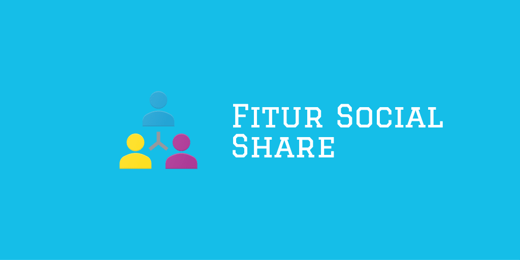 Menerapkan Fitur Social Share